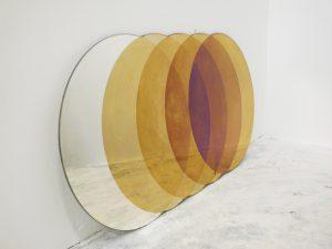 Transience voor Transnatural, spiegels tonen de schoonheid van oxidatie, i.s.m. David Derksen.