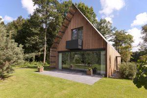 Bosvilla Voorschoten, architect eigen huis