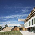Hergebruik en nieuiwbouw in Da Vinci College