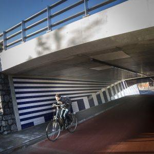 Tunnels bij nieuwe rondweg rond Leeuwarden
