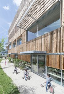 Kindercampus Zuidas, Fact architect en Hund Falk architecten