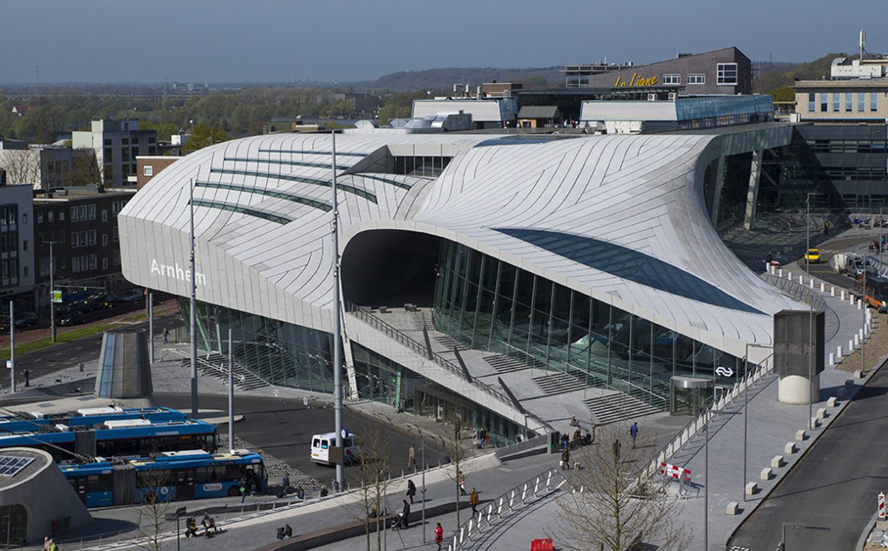 Europese Betonprijs Voor Station Arnhem Centraal