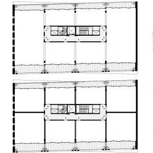 Per verdieping zijn vele indelingen mogelijk, van twee tot acht units