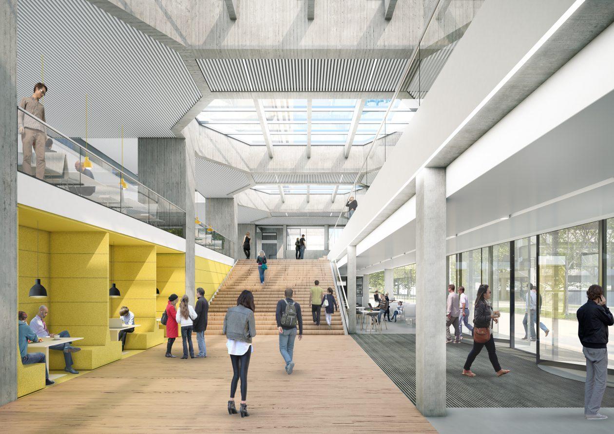 Renovatie tinbergen gebouw - Architectuur renovatie ...