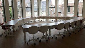 Nieuwe raadzaal in de nieuwbouwvleugel