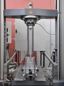 Opstelling van het experiment in het Glass&Transparency Lab van de TU Delft.