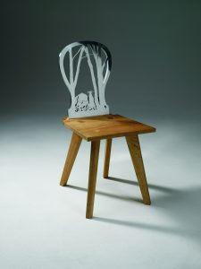 A Forest Chair. Foto: Frans Lossie