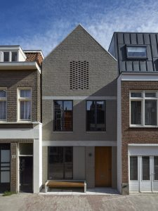 Eigen huis James Jeffries in de Wenslauerstraat Kinkerbuurt Amsterdam