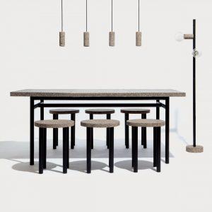De Dutch Design Award voor Best Talent ging naar Tom van Soest voor StoneCycling, een project waarbij nieuwe bakstenen en meubels worden gemaakt van bouwpuin.