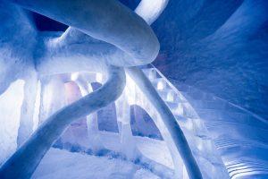 Dreamscape kamers in Icehotel 365 lapland Zweden, ontwerp atmosstudio, foto Asafkliger
