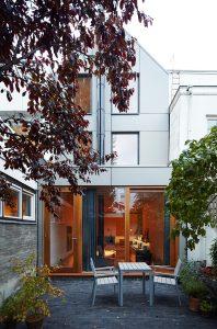 Eigen huis James Jeffries in de Wenslauerstraat Kinkerbuurt Amsterdam