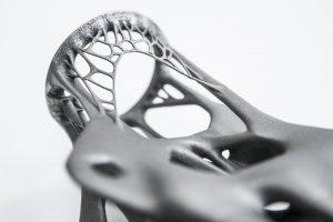 Stalen knooppunt door Arup. Met 3D-printen kun je veel complexe en custom-made bouwdelen veel efficiënter produceren