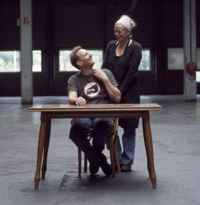 Rianne Makkink en Jurgen Bey