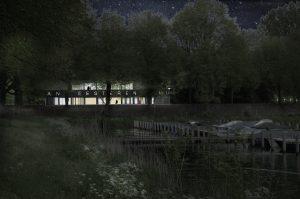 nachtperspectief jachthaven, Korteknie Schumacher Architecten