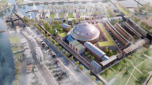Universiteit in koepel Haarlem