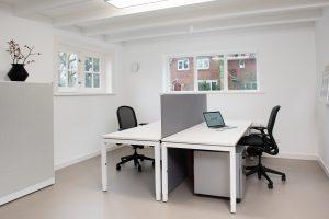 Nieuwe werkruimte