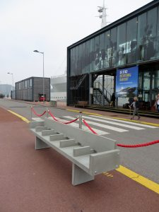 Object Rotterdam 2017 - Writers Bench beton- Foto Jacqueline Knudsen