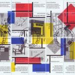 100-jaar de Stijl postzegels