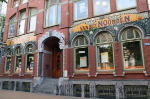 Nieuwsblad van het Noorden in Groningen, architect Gerrit Nijhuis