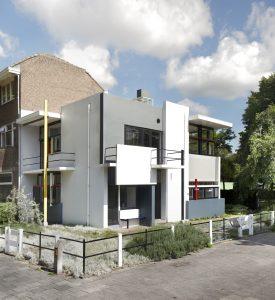 Rietveld Schröderhuis, ontworpen door Gerrit Th. Rietveld, 1924. Foto Ernst Moritz
