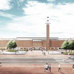 Jelmar Brouwer plan Olympisch Plein Amsterdam