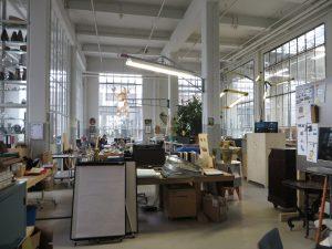Het kantoor van Eek in gebouw RK. Foto Jacqueline Knudsen.