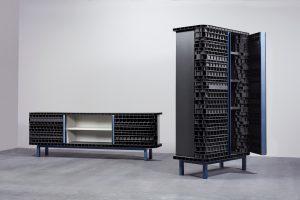Inside–Out voor Transitions II van Baars & Bloemhoff, toont de innerlijke schoonheid van het vaak anoniem toegepaste materiaal Finsa Greenpanel.