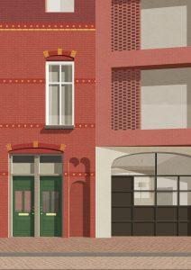 Transformatie woonblok aan de Barakken en de Prinsenstraat in Groningen