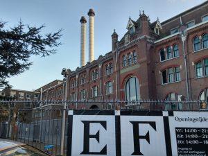 De Electriciteitsfabriek in Den Haag, architect Adam Schadee 1906.Foto Jacqueline Knudsen.