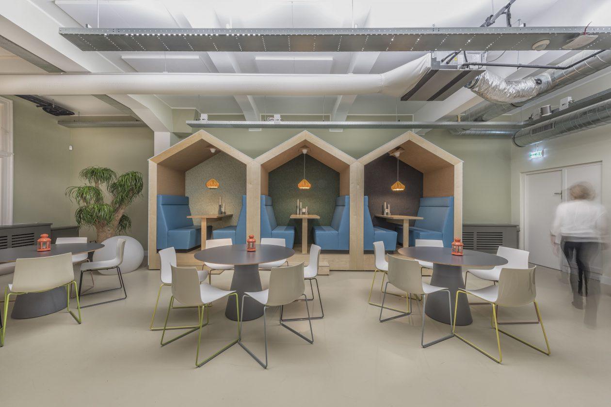 D dock ontwerpt hip kantoor voor zoover weeronline for Kantoor interieur design