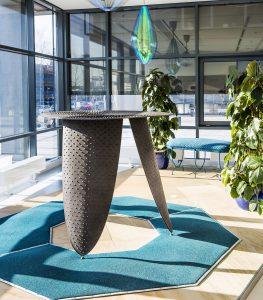 In kantoor The Base bij Schiphol heeft Enrichers 3 proefopstellingen ingericht