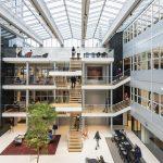 Interieurontwerp kantoor Aegon Leeuwarden door OTH