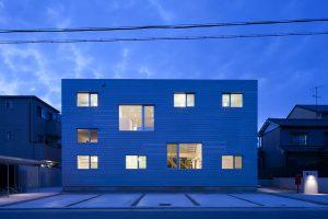 LT Josai in Nagoya. 2013. Naruse Inokuma Architects. Foto Masao Nishikawa.