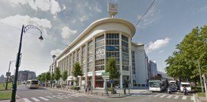 Citroëngarage aan het IJzerplein in Brussel