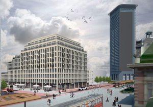 Impressie Grote Belastingkantoor Den Haag