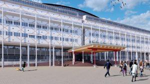 Luifel stadhuis Apeldoorn