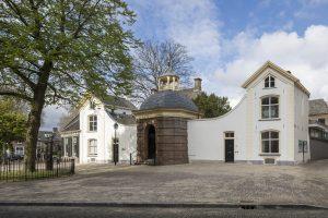 De tuinkoepel (1697) is de nieuwe entree van Musea Zutphen