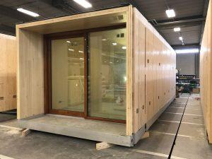 Industrieel bouwen met hout - Modulaire kamer ...