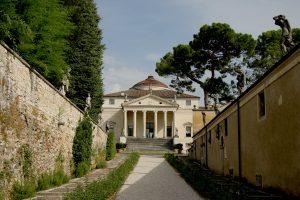 Villa Rotonda, Vicenza, Italië (1592). Architect: Andrea Palladio.