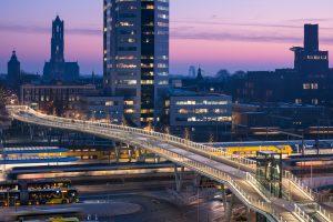 Moreelsebrug, Utrecht • Foto's Jannes Linders en Willem Heesen.