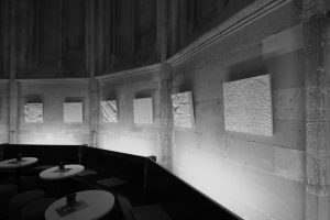 De expositie Exploitatie landschap ENCI, in de Dominicanenkerk te Maastricht 2017