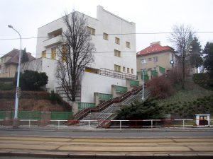 Villa Müller, Praag (1930). Architect: Adolf Loos.