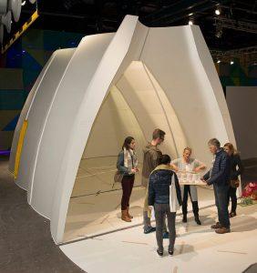 Re-Settle was als prototype te zien op de Dutch Design Week 2016.