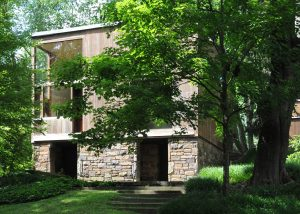 Fisher house, Pennsylvania (1967). Architect: Louis Kahn