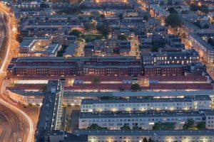 De Schilderswijk in Den Haag met woningbouwprojecten van Mecanoo, Peter Drijver, Braaksma & Roos en anderen
