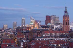 De Haagse skyline
