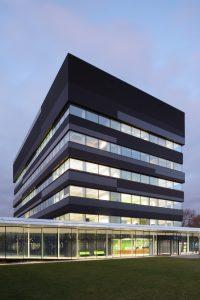 GML laboratoriumgebouw op De Uithof in Utrecht, RAU.