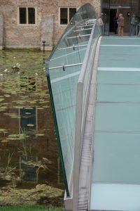 De nieuwe brug, een ontwerp van architect Hans van Heeswijk. Foto Jacqueline Knudsen.
