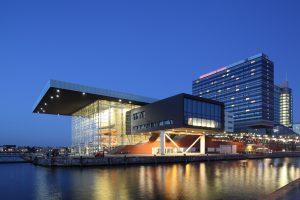 Muziekgebouw aan 't IJ in Amsterdam, 3XN