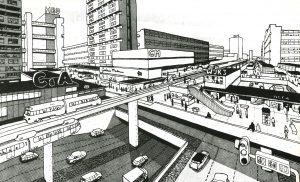 Stad op Pampus, 1965, Van den Broek en Bakema